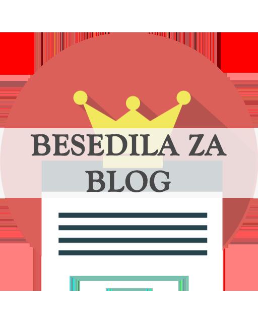 Besedila za blog