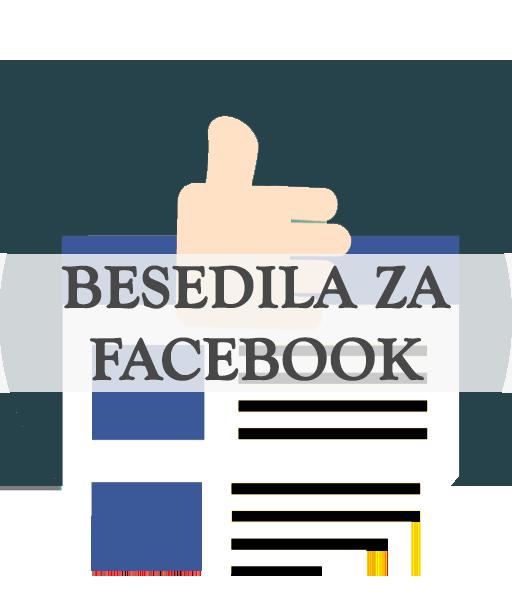 Besedila za Facebook