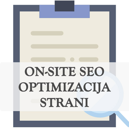 On-site seo optimizacija spletne strani vsebine