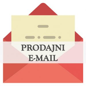 Pisanje prodajnih emailov in emailov potencialnim kupcem, e-mail marketing